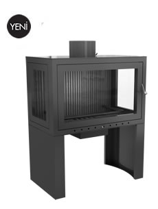 Economic Insert With Elevator and Stove - HS 70 U