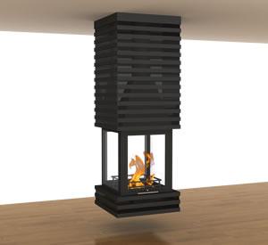 Hürsan Odunlu Orta Şömineler - KOT