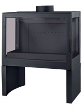 - L 71 U Type Wood Stove