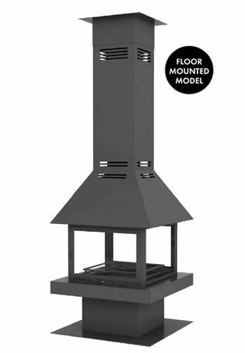 Hürsan Central Fireplaces - LEGO