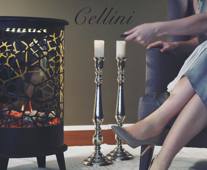 Electric Fireplaces - Cellini