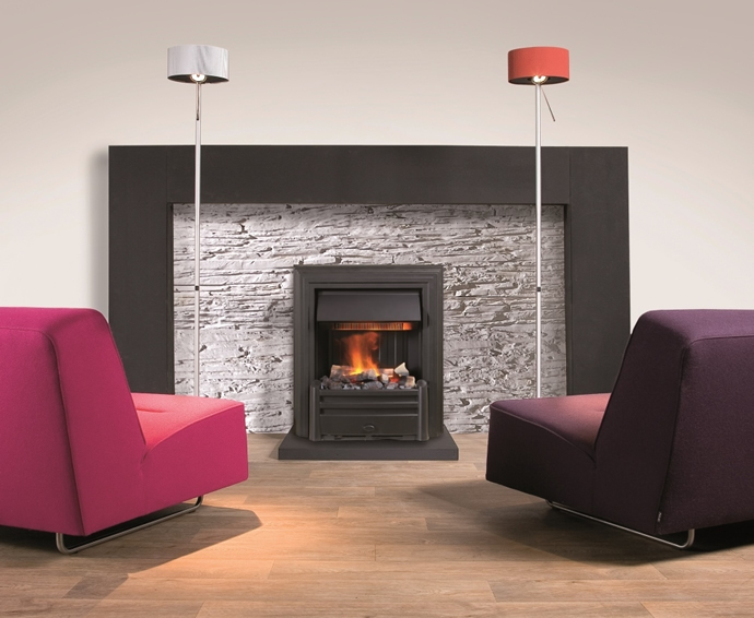 Electric Fireplaces - Hemmet Black