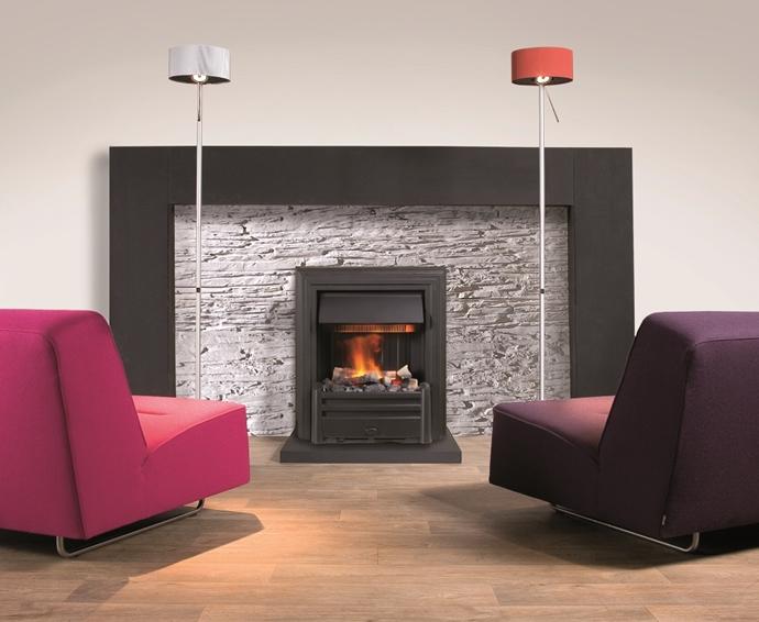 Electric Fireplaces - Hemmet Black