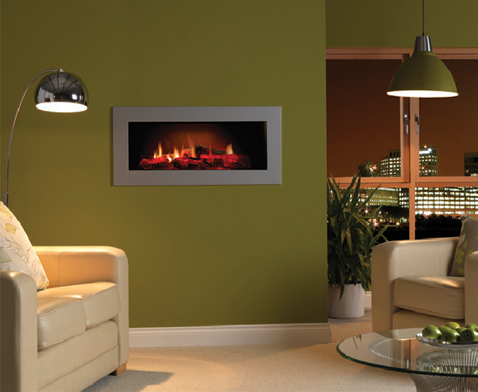 Electric Fireplaces - Opti V Single