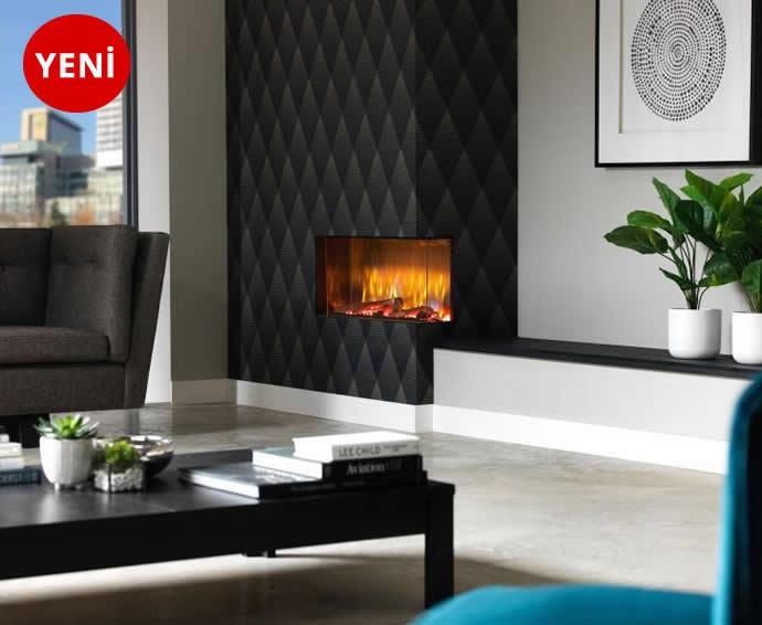 Elektrikli Şömineler - Vivente 75