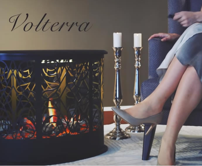 Electric Fireplaces - Volterra