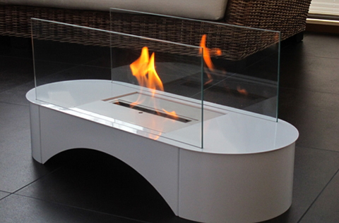 Superflamm Ethanol Fireplaces - Pompei