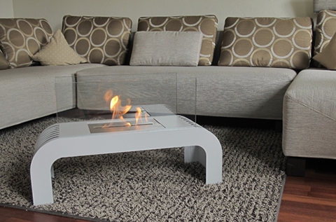 Superflamm Ethanol Fireplaces - Sorrento