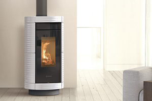 Thermorossi Cusine and Stoves - Dorica Wood Hp Maiolica