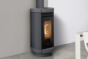 Thermorossi Cusine and Stoves - Dorica Wood Hp Metalcolor