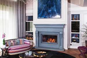 Demi-Classic Fireplace Surrounds