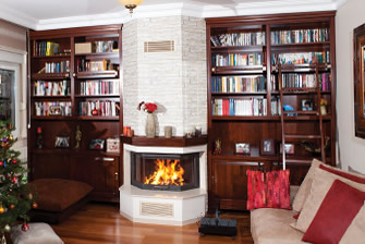 Prismatic Fireplace Surrounds