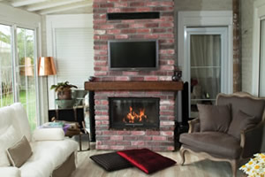 Rustic Fireplace Surrounds